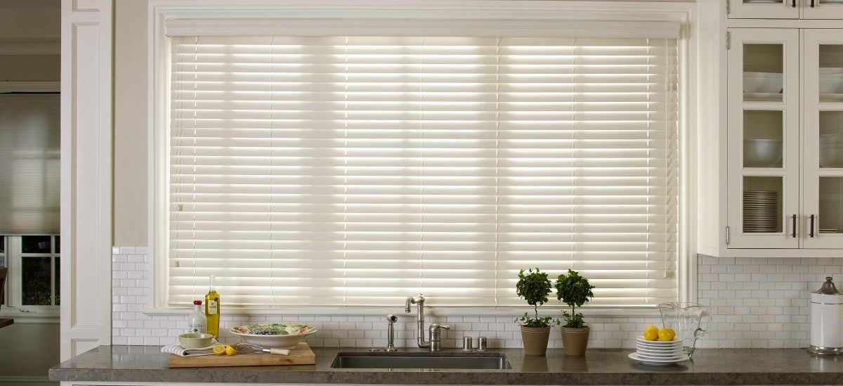 Faux Wood Blinds 2 Inch White